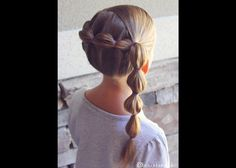 How to: Wrap Around Bubble Braid | Brown Haired Bliss