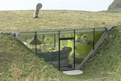 Malator House, designed by Future Systems, St. Brides Bay/Wales
