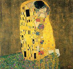 Klimt. The kiss
