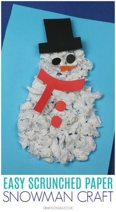 Arts and crafts For Seniors With Dementia - - - - Winter Crafts For Toddlers, Easy Toddler Crafts, Arts And Crafts For Adults, Easy Arts And Crafts, Crafts For Seniors, Arts And Crafts Projects, Christmas Crafts For Kids, Kindergarten Crafts, Preschool Crafts