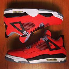 """Air Jordan Retro 4 """"Toro Bravo"""" #Sneakerhead"""