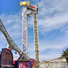 Maliboomer was one of the original attractions when Disney's California Adventure opened in February 2001—and, at 180 feet, the tallest attraction in the new park.  Maliboomer closed permanently on September 7, 2010.