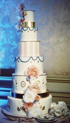 Pastel de bodas de la inspiración - Foto: Caroline Tran Fotografía