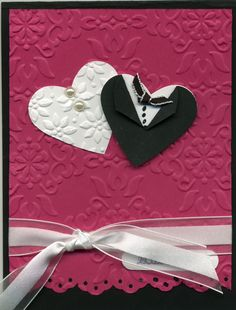 Simple and classy Wedding card