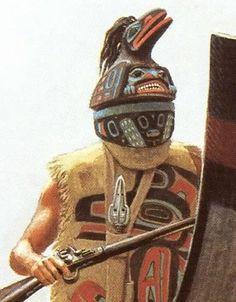 Tlingit or Haida warrior                                                                                                                                                                                 More