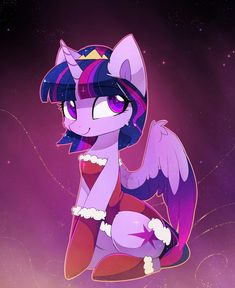 Mlp fan art · holiday twily by magnaluna pony drawing, my little pony cartoon, equestria girls, mlp My Little Pony Twilight, My Little Pony Movie, My Little Pony Cartoon, My Little Pony Characters, My Little Pony Pictures, Mlp Unicorn, Princesa Twilight Sparkle, Little Poni, Imagenes My Little Pony