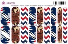 Patriots Jamberry!