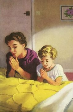 A single woman bedtime prayer