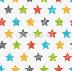 Tło szkicowy gwiazd — Grafika wektorowa © mhatzapa #59808567