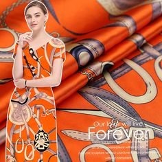 19 mm stretch satin silk fabric high - end cheongsam digital printing silk satin fabric natural silk fabric wholesale silk cloth