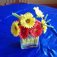 Easter center piece for table.