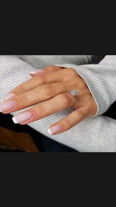 Engagement Nails, Big Engagement Rings, Engagement Ring Buying Guide, Engagement Rings Cushion, Diamond Wedding Rings, Diamond Rings, Bride Nails, Beautiful Wedding Rings, Wedding Nails For Bride Natural