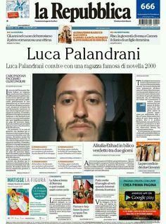 Luca Palandrani convive con una ragazza famosa di novella 2000