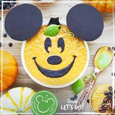 Mickeys havermout met pompoensmaak