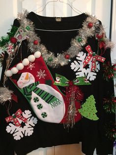Deb Rottum's Tacky Christmas Sweater Women's Size 5X  NWT   #Worthington #sweater