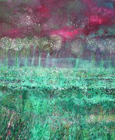 "Saatchi Art Artist Martina  Furlong; Painting, ""Where The Magic And Mystery Began - SOLD"" #art"