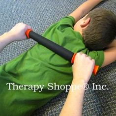 proprioceptive/tactile input - deep pressure sensory rolling pin for sensory integration issues.