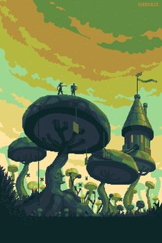 KIROKAZE — Mushroom Trees - kirokaze