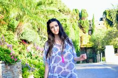 Kaftan beach cover up caftan top by solemareny on Etsy