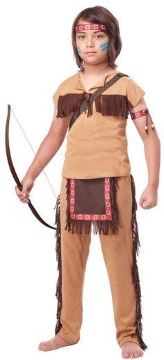 Native American Brave Child Costume - 352664