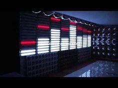 http://www.disco-designer.com LED Disco Panel Equalizer Designed and manufactured by Disco Designer