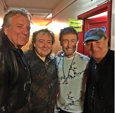 14 May 2017, Robert Plant and former AC/DC singer Brian Johnson made a surprise appearance on stage at Paul Rodgers' show in Oxford.