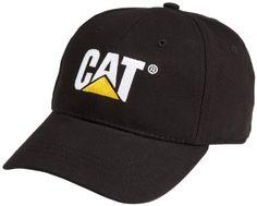 Caterpillar Men's Cat Trademark Cap, Black, One Size: Clothing #heavyequipment #caterpillar