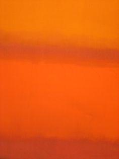 "tierradentro: """"Red, Orange, Orange on Red"", 1962, Mark Rothko. """
