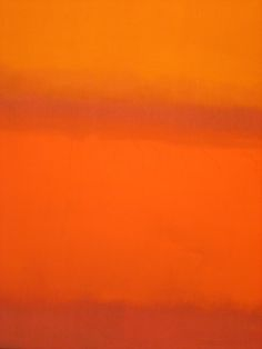 "tierradentro: """"Red, Orange, Orange on Red"", 1962, Mark Rothko. """