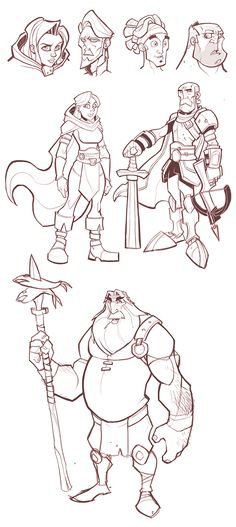 CHARACTER DESIGN by Antoine Vrablec, via Behance ★ Find more at http://www.pinterest.com/competing/