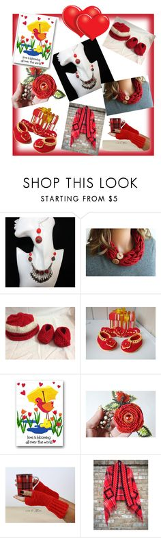 """""""Red, but so different ..."""" by lwitsa62 on Polyvore featuring косметика"""