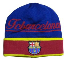 493f9f732fb FC Barcelona Style Beanie (Script)