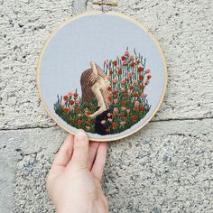Thorn. Embroidery. Chloe Jo designs