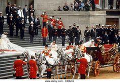 Princess Diana and Prince Charles - Stock Image