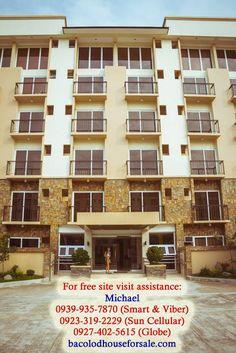 Hi Residences Studio Actual Facade - Bacolod House for Sale Bacolod, Site Visit, Condominium, Facade, Studio, Outdoor Decor, Modern, House, Home Decor