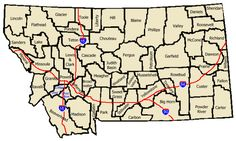 Ghost Towns of Montana - Alphabetical Listing