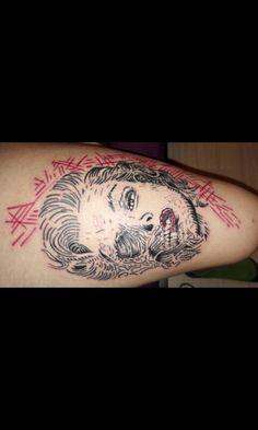 Tattoo by Dimitri Pups