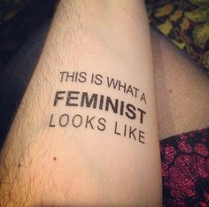 'This is what a feminist looks like' by Vanessa Sousa