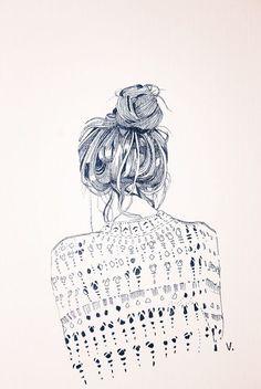 parker+may | a #fashion #illustration, by Veronica Algaba