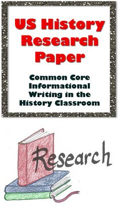 Us history research papers