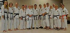 My Anshin karate family.