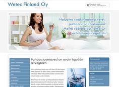 Wetec Finland Oy on erikoistunut ilman- ja vedenpuhdistukseen liittyvien järjestelmien maahantuontiin.. Yritys toteutti kotisivut Kotisivukoneella sen helppouden ja monipuolisuuden vuoksi. Finland