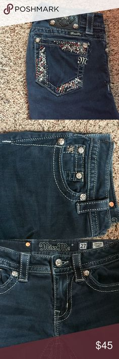 Miss Me Jeans Skinny no wash Miss Me jeans Miss Me Pants Skinny