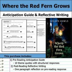 where the red fern grows essay question A short quiz about the book where the red fern grows.