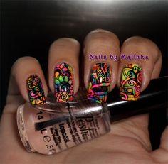 Nails by Malinka: Born Pretty plate BP-L008