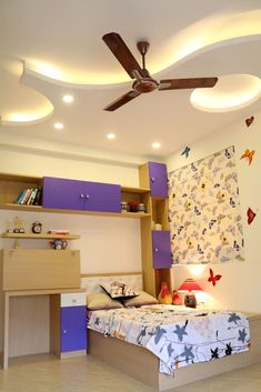 Here you will find photos of interior design ideas. Get inspired! Pooja Room Design, Bedroom Setup, Bedroom Cupboard Designs, Bedroom Closet Design, Bedroom Furniture Design, Home Room Design, Modern Bedroom Design, Simple Ceiling Design, House Ceiling Design