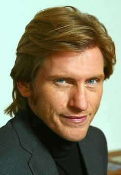 Medium Layered Hairstyles with Sideburns Hair for Men from Denis Leary