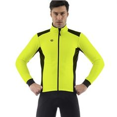 Giordana Fusion jakke 2013 - neon gul (bemærk kun str. 3/M)