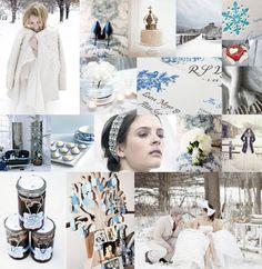 Mariage d'hiver  Le mariage hivernal est vaporeux, étoilé, lumineux, doux et romantique, Parfait pour un mariage féerique, dans un esprit reine des glaces.     Adoptez des tons bleus, blanc et crème, jouez sur la transparence et les jeux de lumière pour créer une atmosphère onirique.
