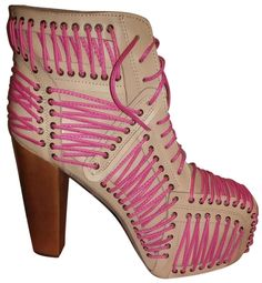 Jeffrey Campbell Lita Laced Up Fuchsia, Ivory Boots. Get the must-have boots of this season! These Jeffrey Campbell Lita Laced Up Fuchsia, Ivory Boots are a top 10 member favorite on Tradesy. Save on yours before they're sold out!